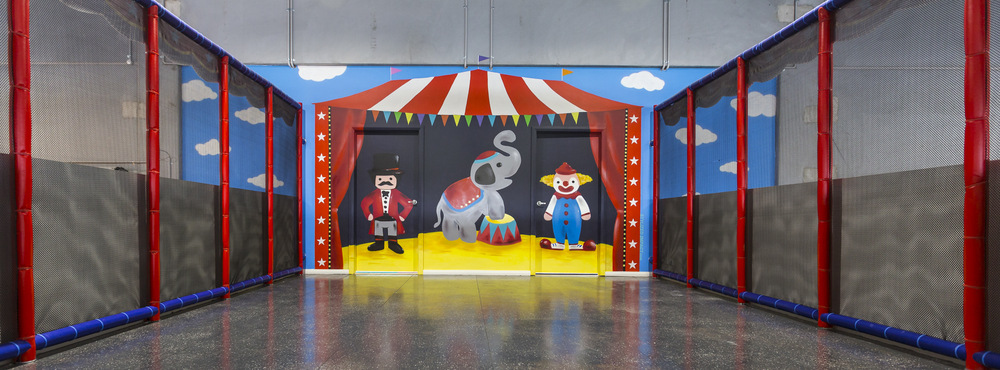 Funland Circus theme room