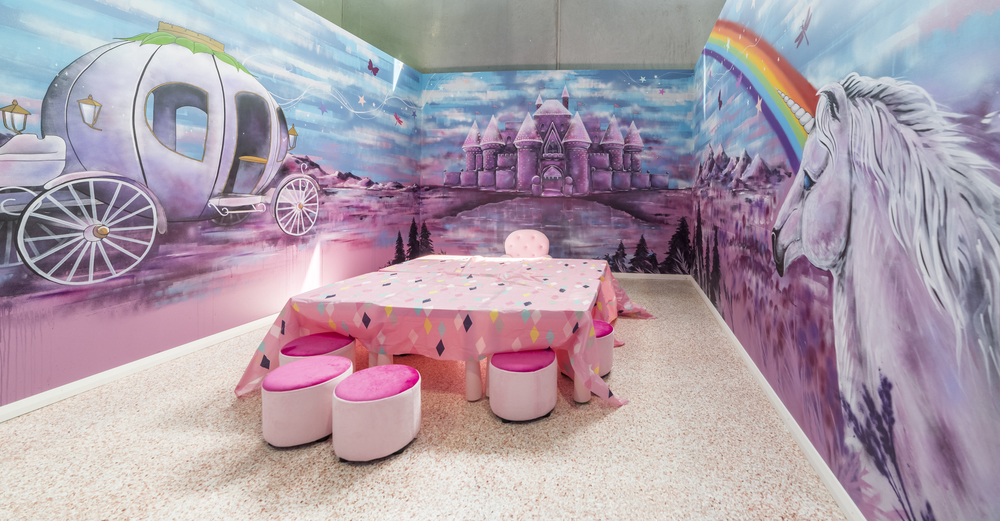 Funland pink fairy theme room