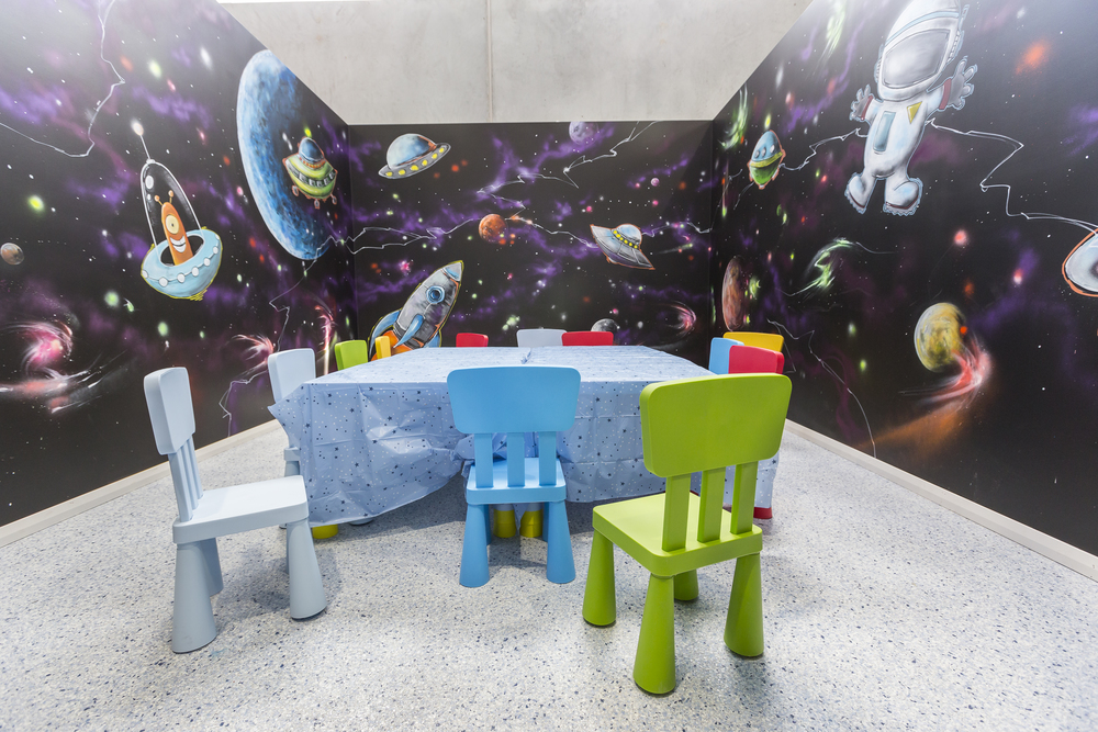 Funland Space theme room